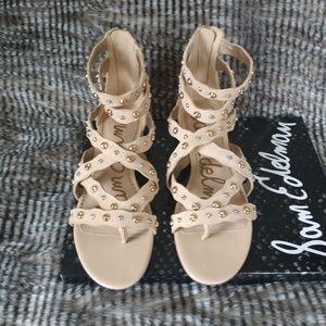 6544305fab5e3 New Sam Edelman Sandals Strappy flats Size 8
